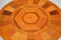 1960s Vintage Side Table in Various Inlaid Woods by Sovereign New Zealand (5 of 10)