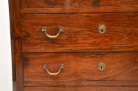 Antique Rosewood Biedermeier Secretaire Chest of Drawers (8 of 13)