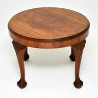 Antique Figured Walnut Coffee Table (2 of 6)