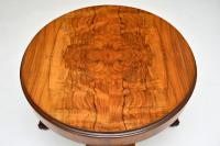 Antique Figured Walnut Coffee Table (3 of 6)