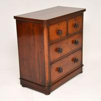 Antique Victorian Mahogany Chest of Drawers (8 of 10)