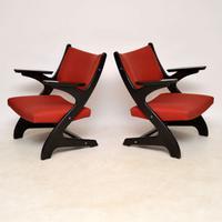 1960'S Pair of Vintage Italian Armchairs (2 of 12)
