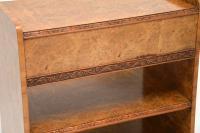 Antique Burr Walnut 3 Tier Buffet Server Table (12 of 12)