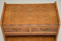 Antique Burr Walnut 3 Tier Buffet Server Table (5 of 12)