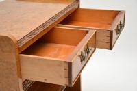 Antique Burr Walnut 3 Tier Buffet Server Table (9 of 12)
