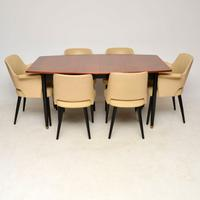 1950s Vintage Dining Table & Chairs by Robin Day For Hille