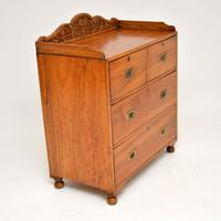 Antique Camphor Wood Campaign Chest of Drawers (12 of 12)