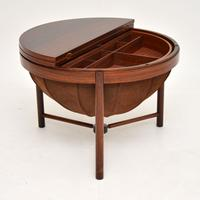 1960s Rosewood 'Syklus' Sewing Table by Rastad & Relling (2 of 10)