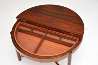 1960s Rosewood 'Syklus' Sewing Table by Rastad & Relling (5 of 10)