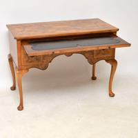 Antique Burr Walnut Desk / Writing Table / Dressing Table (3 of 11)