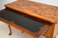 Antique Burr Walnut Desk / Writing Table / Dressing Table (4 of 11)