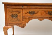 Antique Burr Walnut Desk / Writing Table / Dressing Table (5 of 11)