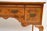 Antique Burr Walnut Desk / Writing Table / Dressing Table (6 of 11)
