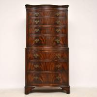 Antique Flame Mahogany Chest on Chest (2 of 9)
