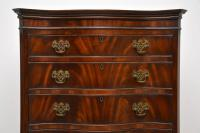 Antique Flame Mahogany Chest on Chest (3 of 9)
