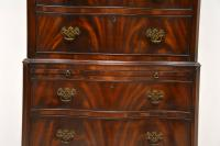 Antique Flame Mahogany Chest on Chest (4 of 9)