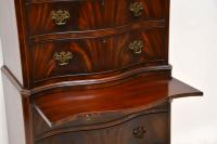 Antique Flame Mahogany Chest on Chest (6 of 9)