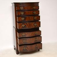 Antique Flame Mahogany Chest on Chest (7 of 9)