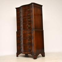 Antique Flame Mahogany Chest on Chest (9 of 9)