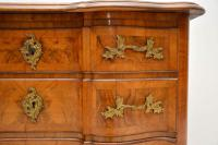 Antique Swedish Walnut Commode / Chest of Drawers (4 of 12)