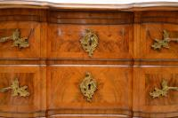 Antique Swedish Walnut Commode / Chest of Drawers (5 of 12)