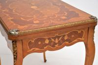 French Inlaid Marquetry Card Table (11 of 12)