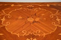 French Inlaid Marquetry Card Table (6 of 12)