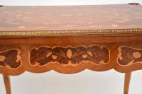 French Inlaid Marquetry Card Table (8 of 12)