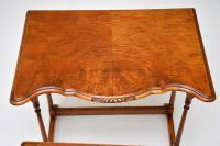 Antique Burr Walnut Nest of Tables (4 of 9)