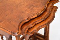 Antique Burr Walnut Nest of Tables (7 of 9)