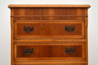 Georgian Style Yew Wood Chest on Chest c.1930 (5 of 13)