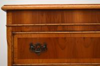 Georgian Style Yew Wood Chest on Chest c.1930 (8 of 13)