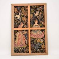 Antique Hand Stitched Tapestry c.1890 (10 of 12)