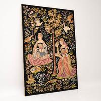 Antique Hand Stitched Tapestry c.1890 (2 of 12)