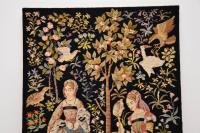 Antique Hand Stitched Tapestry c.1890 (3 of 12)