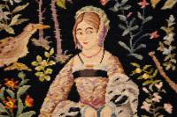 Antique Hand Stitched Tapestry c.1890 (5 of 12)