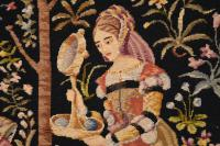 Antique Hand Stitched Tapestry c.1890 (6 of 12)