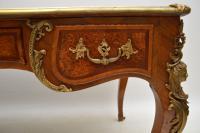 Large Antique French Gilt Bronze Mounted Kingwood Desk (3 of 15)