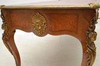 Large Antique French Gilt Bronze Mounted Kingwood Desk (7 of 15)