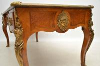Large Antique French Gilt Bronze Mounted Kingwood Desk (9 of 15)
