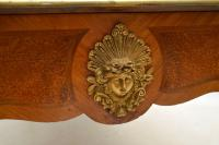 Large Antique French Gilt Bronze Mounted Kingwood Desk (10 of 15)