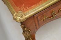 Large Antique French Gilt Bronze Mounted Kingwood Desk (12 of 15)