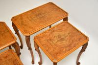 Pair of Antique Burr Walnut Nesting Side Tables (7 of 9)