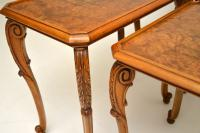 Pair of Antique Burr Walnut Nesting Side Tables (8 of 9)