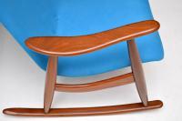 1960s Pair of Vintage Rocking Armchairs by Louis Van Teeffelen (5 of 11)