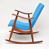 1960s Pair of Vintage Rocking Armchairs by Louis Van Teeffelen (11 of 11)