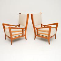 1950s Pair of Italian Vintage Armchairs (2 of 12)