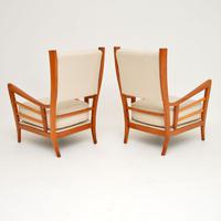 1950s Pair of Italian Vintage Armchairs (6 of 12)