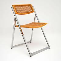 1970s Italian Chrome & Cane Folding Dining Chairs by Arben (2 of 11)