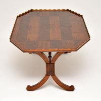 Antique Yew Wood Oyster Veneer Coffee Table (5 of 12)